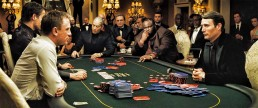 The Casino Royale poker scene